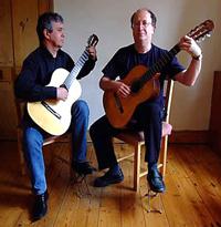 Jonathan Priestley and Derek Taylor